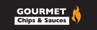 Gourmet Chips & Sauces brand logo
